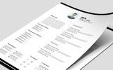 Minimal Resume/CV Resume Template