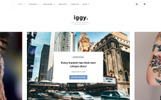 Responsywny motyw WordPress Iggy - Clean Blog & Magazine #65433