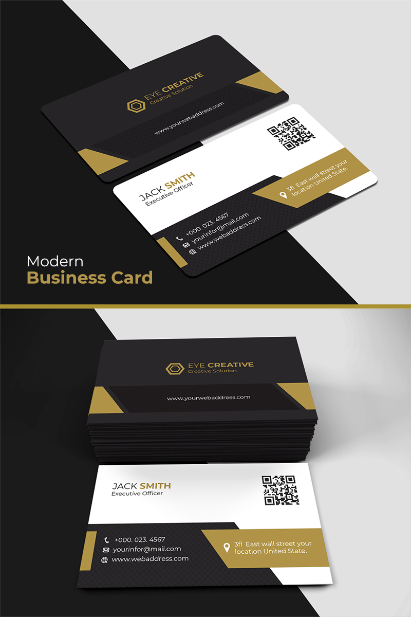 Luxury business card corporate identity template 73553 luxury business card corporate identity template friedricerecipe Gallery