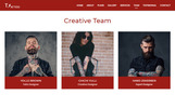"""Landing Page Template namens """"Tattoo"""""""