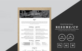 Lusek Smith Graphic Designer Resume Template