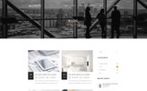 Tema WordPress Flexível para Sites de Portfólio de Designer №65693