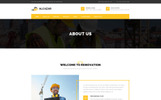 Alcazar - Construction, Renovation & Building WordPress Theme