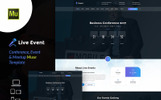 Live Event - Conference & Meetup Muse Template