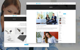 Responsive WordPress thema over Adviesbureau