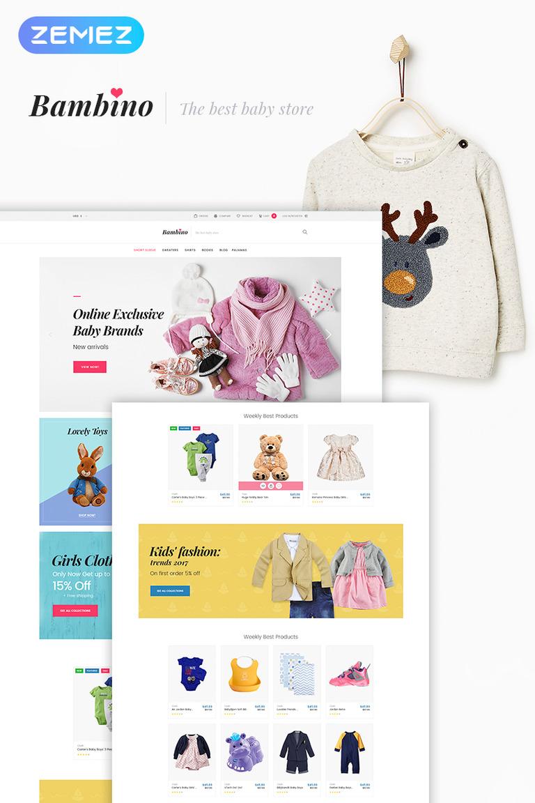a615cbd9e Bambino - Baby Store Responsive WooCommerce Theme