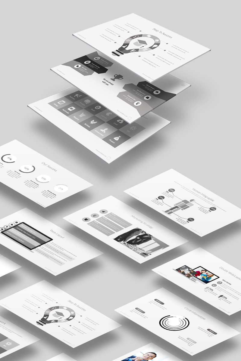 it powerpoint template 65443