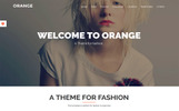 Orange - One Page Bootstrap WordPress Theme Tema WordPress №73816