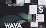 """Keynote Vorlage namens """"Wava -"""""""