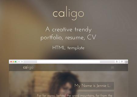 Caligo - Portfolio, Resume, CV