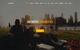 Szablon Landing Page #64798 na temat: elektronika
