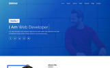 Dekha - Creative Personal Portfolio Templates de Landing Page  №74175