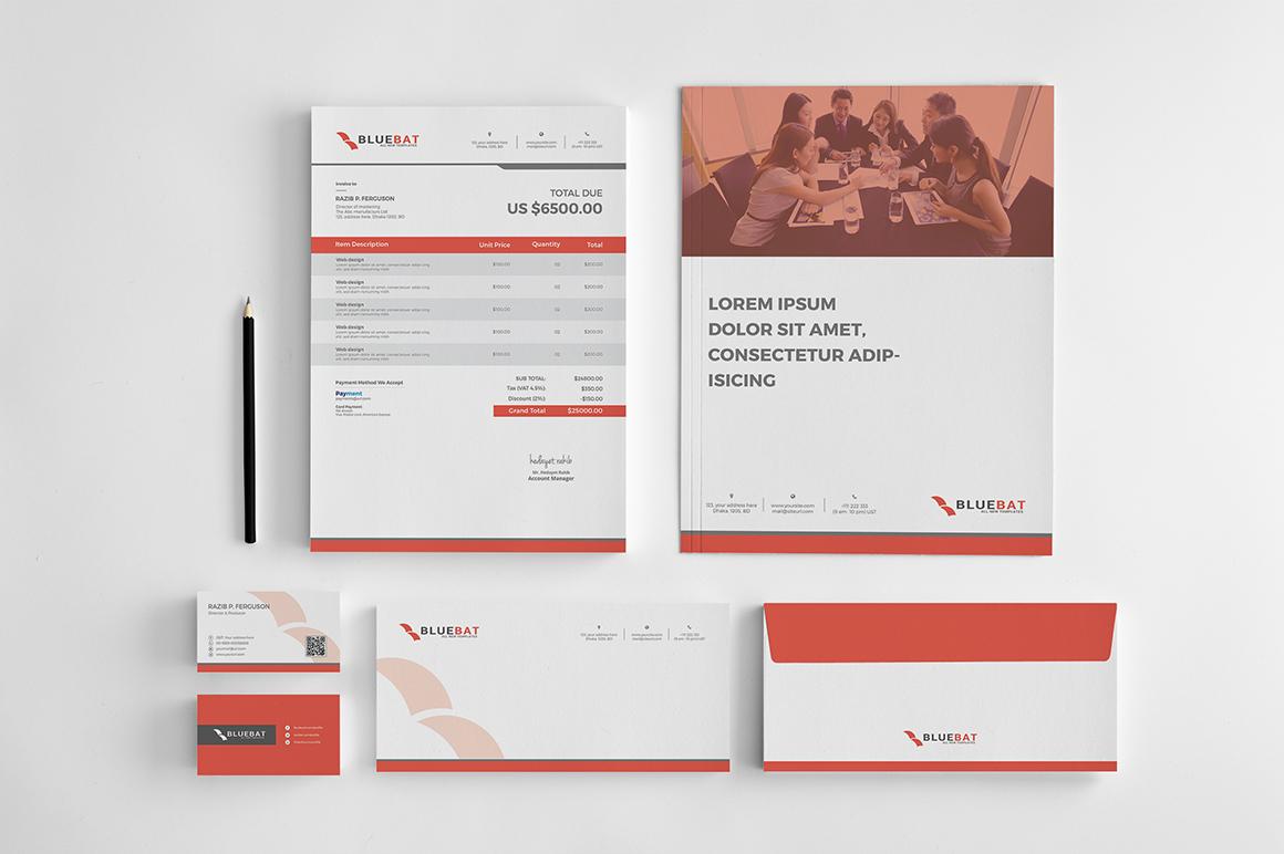 Unternehmensidentität Vorlage #65445 für Schreibwaren