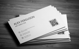 Minimal Business Card Corporate Identity Template