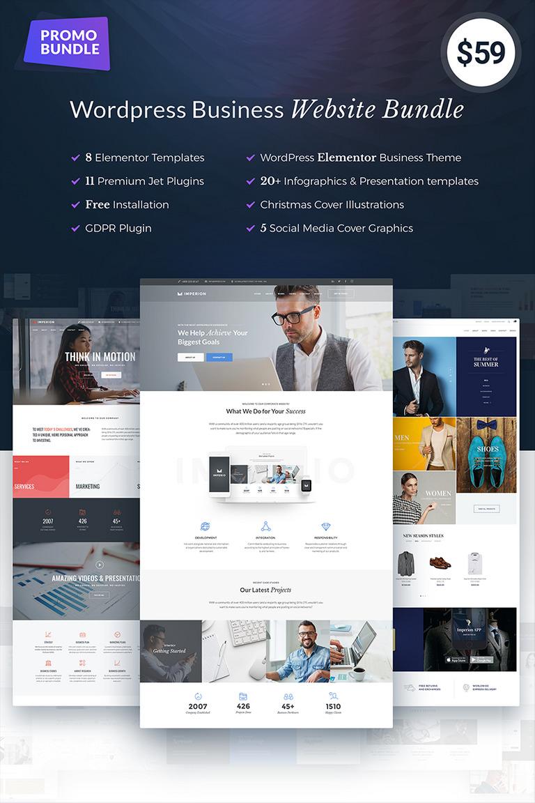 Wordpress business website bundle 74233 wordpress business website bundle new screenshots big flashek Choice Image