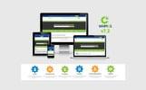 Website Vorlage für Domain-Registrar
