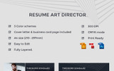 Theodore Gonzalez - Art Director Resume Template