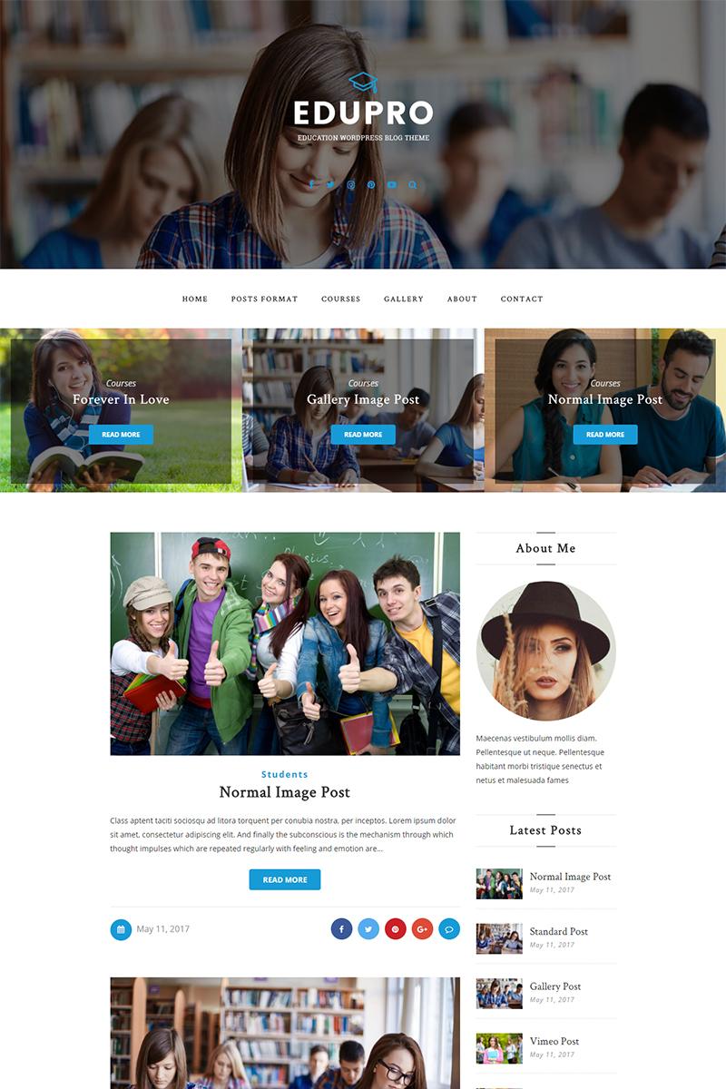 Шаблон сайта на тему образование и книги #65465