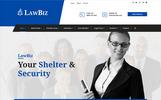 LawBiz - Lawyer Attorney Website Template