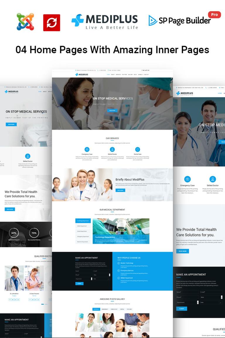 Joomla Vorlage #65473 für Zahnmedizin