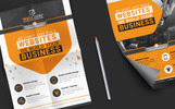 Flyer for Web Development Corporate Identity Template