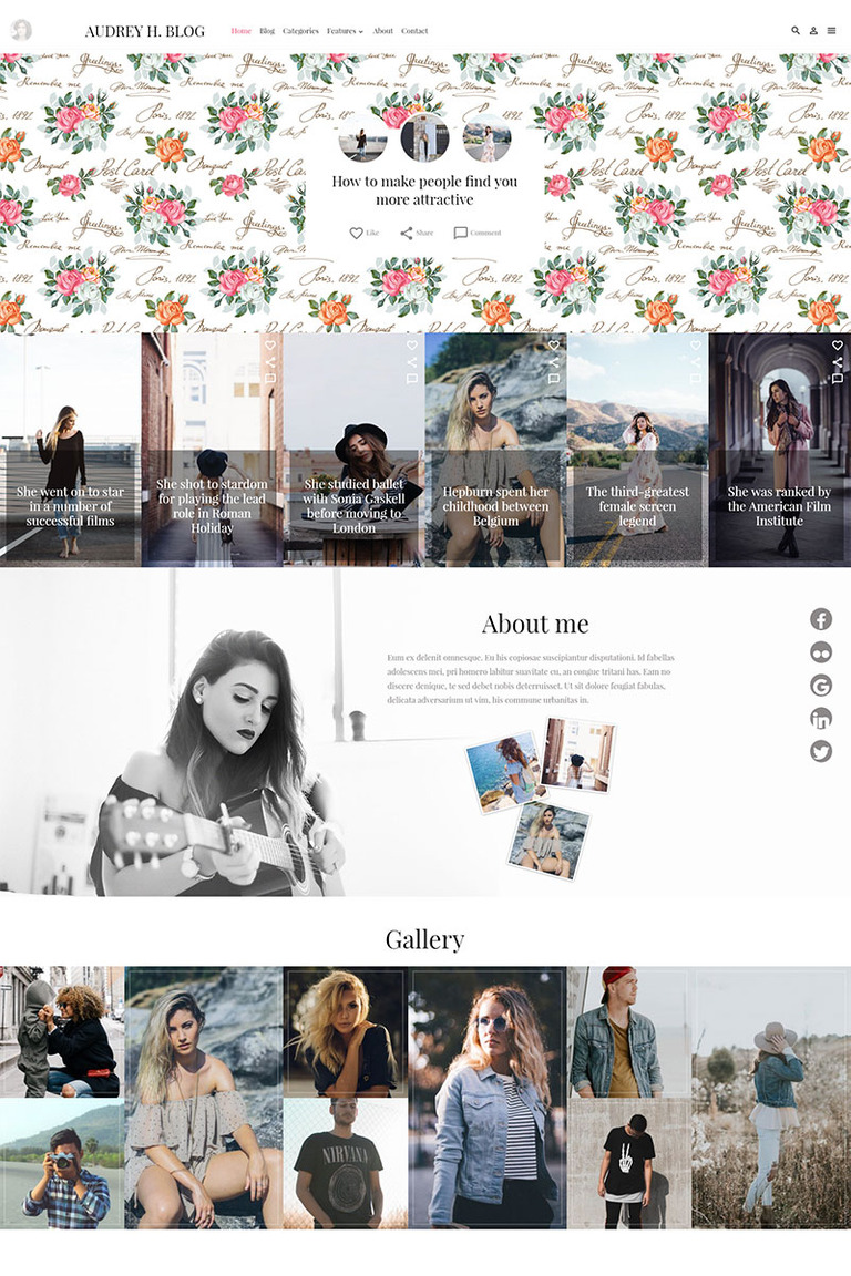 Audrey WordPress Theme Big Screenshot