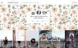 Tema WordPress Flexível para Sites de Design e Fotografia №65472