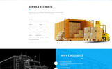 """Logistic & Transportation  - Bootstrap"" Responsive Website template"