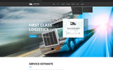 "Website Vorlage namens ""Logistic & Transportation  - Bootstrap"""
