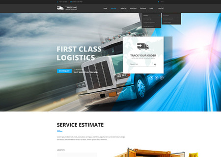 Logistic & Transportation  - Bootstrap