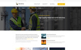 Manufactory - Industrial WordPress Theme