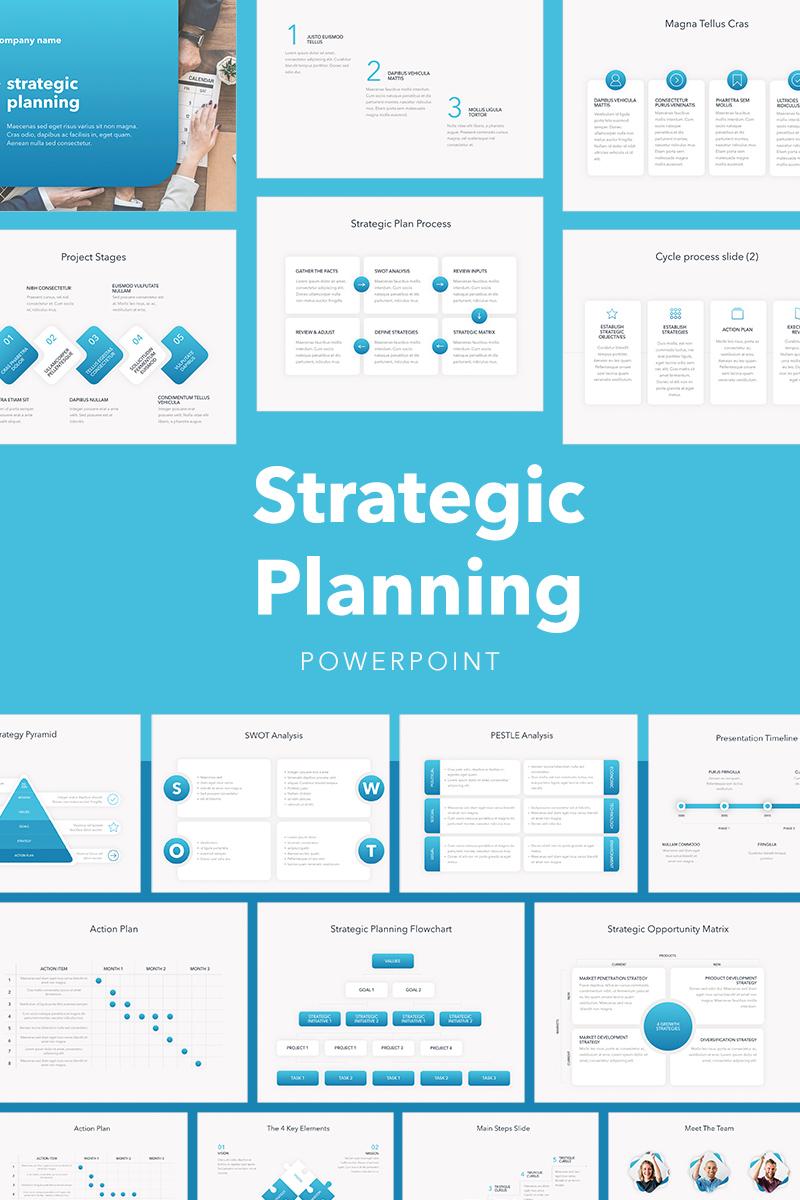 Strategic Planning PowerPoint Template #75641