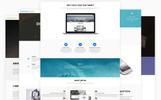 Bootstrap WordPress-tema för kontor