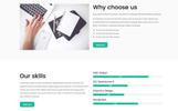 Tema de WordPress para Sitio de Oficinas