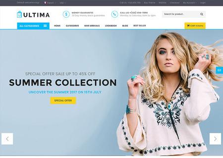 Ultima - Multipage Fashion Store