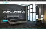 """Palace - Interior & Architecture HTML5 Bootstrap"" Responsive Website template"