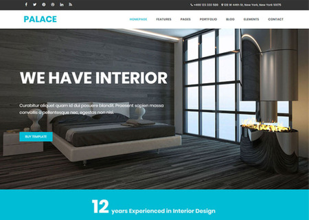 Palace - Interior & Architecture HTML5 Bootstrap