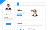 Hello Resume - CV, vCard & Portfolio HTML Template Specialty Page