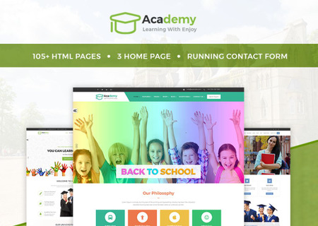 Academy - Education, Learning Courses & Institute