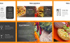 Food Vintage PowerPoint Template Big Screenshot