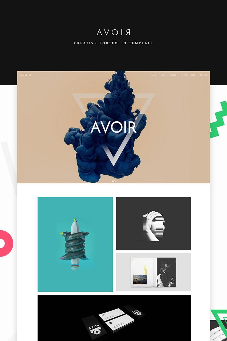 Website Vorlage #65541 für Kunst und Kultur