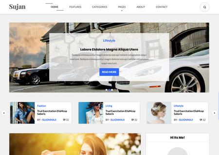 Sujon - Blog HTML