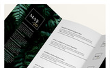 Ferns Trifold Event Flyer Corporate Identity Template