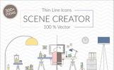 "Illustration namens ""Flat Vector Scene Creator"""