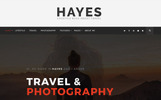 Responsywny motyw WordPress Hayes - Travel Blog #65620