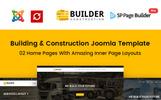 Builder - Construction Company Joomla Template