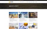 Builder - Construction Company Template Joomla №65495