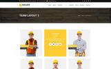 Thème Joomla adaptatif  pour entreprise de construction