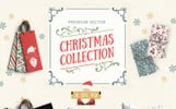 Vector Christmas Collection Illustration