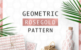 "Pattern namens ""Geometric Rosegold"""